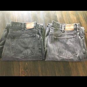 2 pair of men's Land's End Jeans 34L
